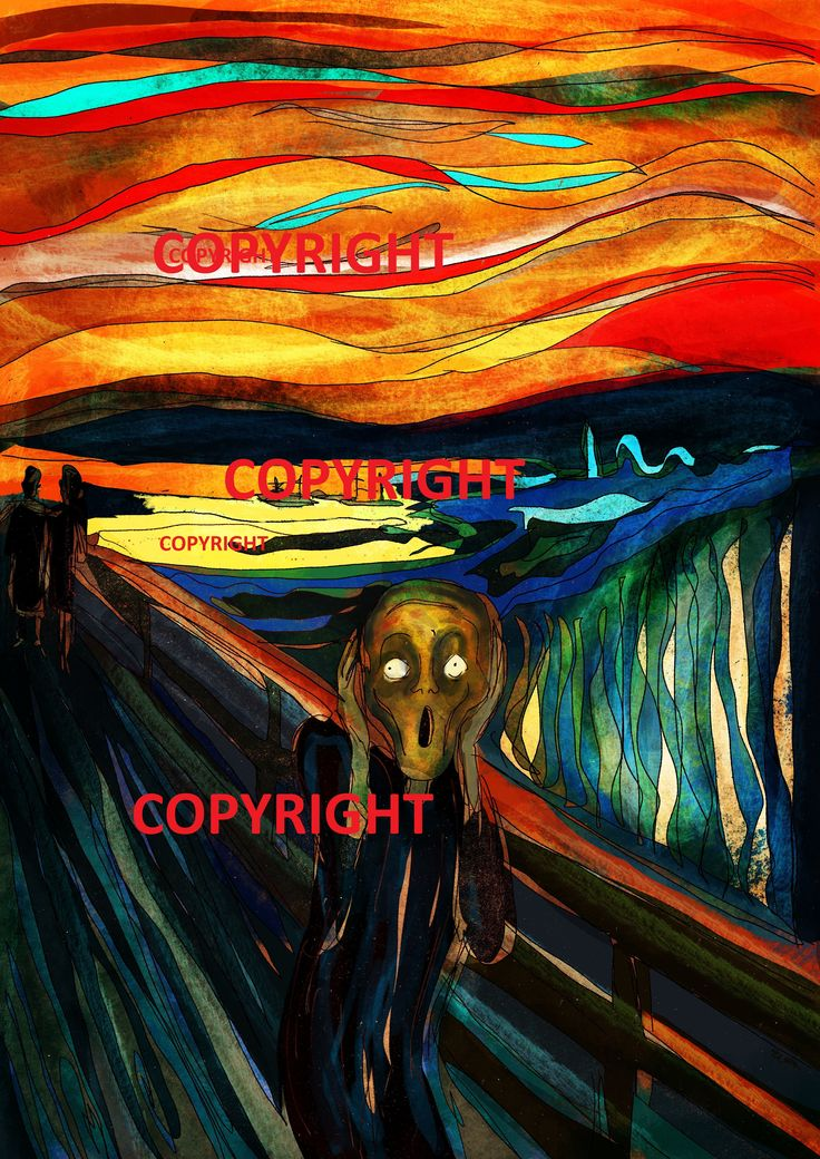 Screaming and Screaming | Selling on pinterest, Art pieces
