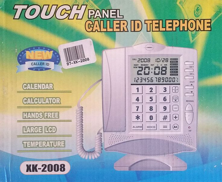 awesome NEW Wall Desk Corded HOME TELEPHONE Landline with LCD Caller ID   Check more at http://harmonisproduction.com/new-wall-desk-corded-home-telephone-landline-with-lcd-caller-id/