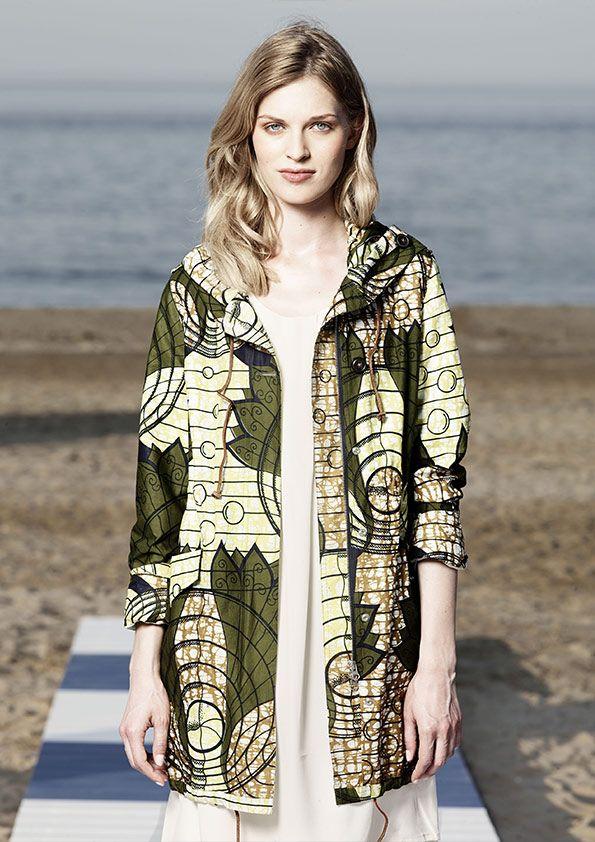 Vlisco x WoolRich SS15 #ankara #fashion