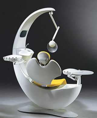 Well would you just look at this dental chair?!