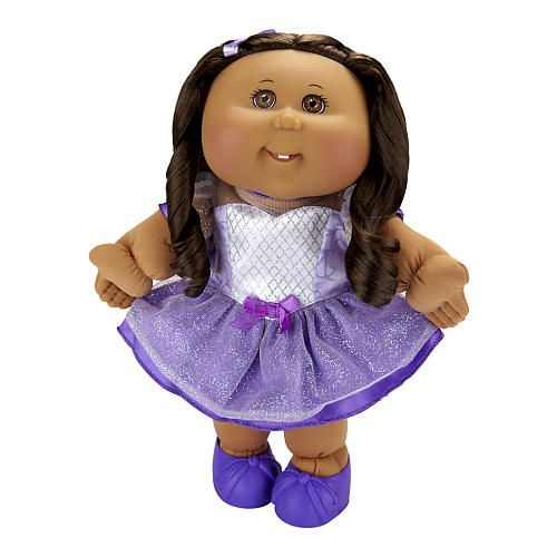Cabbage Patch Kids Toddler Doll African American Girl - Brunette - Princess