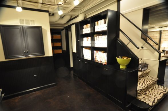My industrial basement remodel basement designs decorating ideas hgtv rate my space - Hgtv basement designs ...