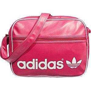 adidas airliner mel umhängetasche rosa/braun