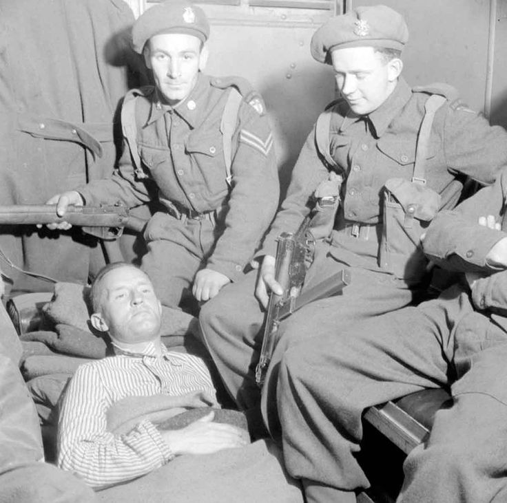 MAY  29 1945 U.S. Ex-POW Kurt Vonnegut writes home. Fascist politician and Nazi propaganda broadcaster William Joyce, known as Lord Haw Haw, lies in an ambulance after his arrest by British officers at Flensburg, Germany, on 29 May 1945. He was shot during the arrest.