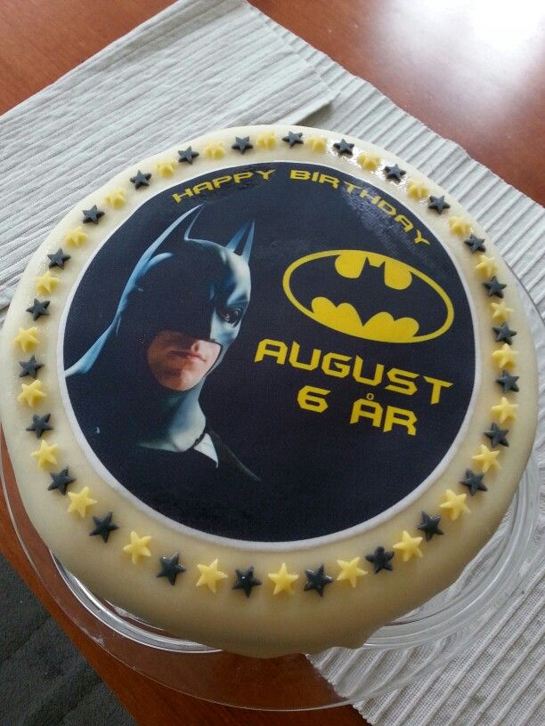 #6yearold#batman#cake#premadecaketopper#birthday