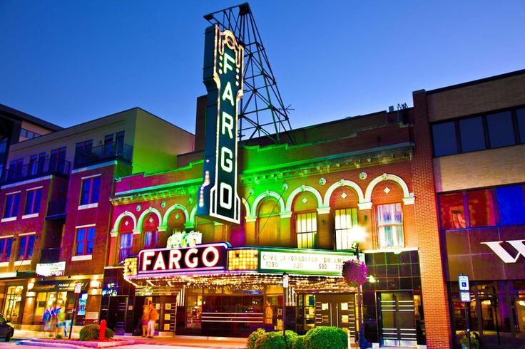 The beautiful Fargo Theatre, home of the Fargo Film Festival.