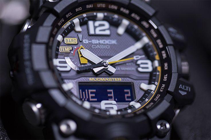 G-Shock lança edição limitada do Mudmaster #gshock #mudmaster #relogio #watches