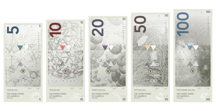 Um conceito de redesign para o dólar, na mesma vibe da Noruega. Inspirado pela nova coroa norueguesa, o designer Travis Purrington imaginou uma nova cara para a moeda norte-americana