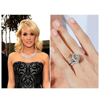 nice Carrie Underwood Wedding Ring, the Expensive Celeberity Gift