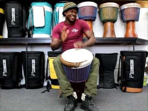 Drumskull Drums & Bassidi Kone - Guinea Lenke Djembe