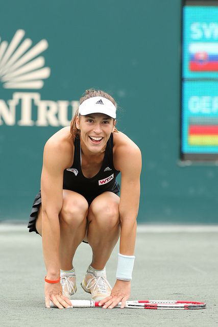 Petkovic during her championship match!