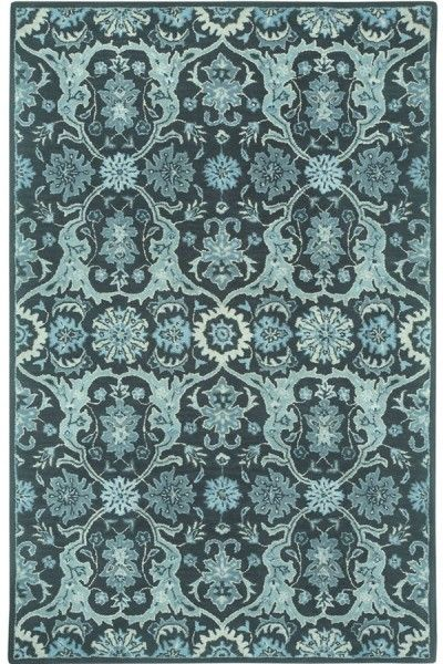 Beautiful Blue Hand Tufted Rug TTP-541