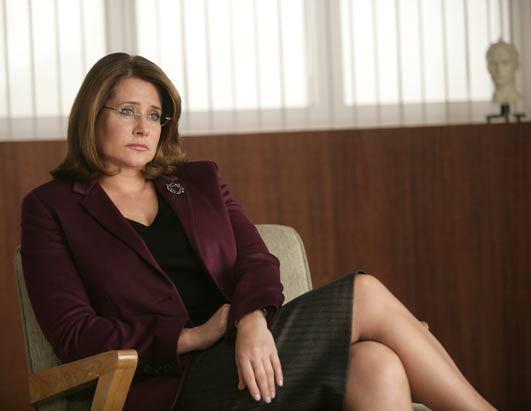 Lorraine Bracco (Jennifer Melfi in The Sopranos)