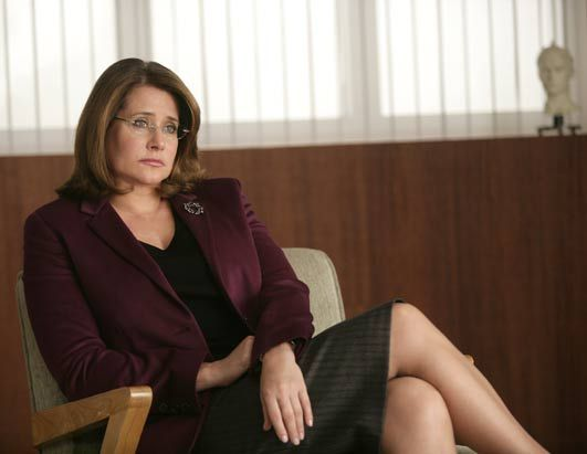 Lorraine Bracco (Jennifer Melfi in The Sopranos)