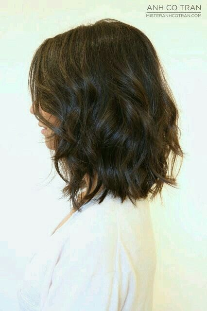 Wavy bob - hair - haircut                                                       …