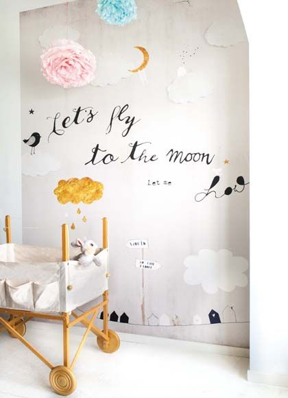 Let's go to the moon - Kids Interior