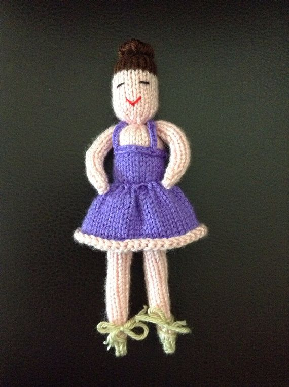 Knitting Pattern Ballerina Doll : The 35 best images about Ballet theme knits on Pinterest ...