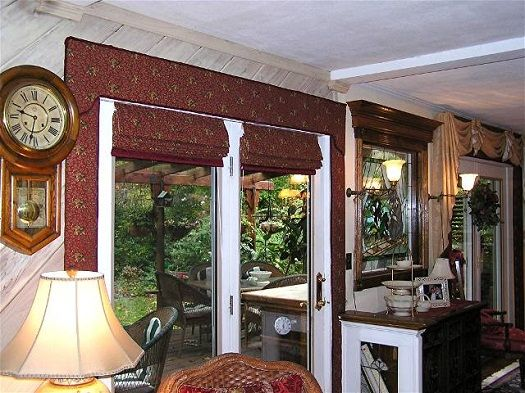 primitive window treatments for french doors | What Kinds of French Door Window Treatments