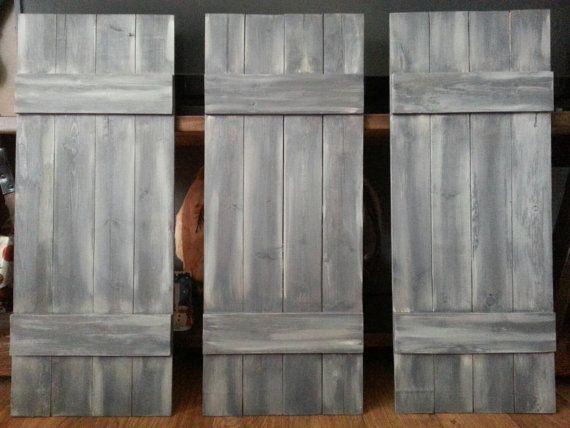 Decorative Indoor Window Shutters: 17 Best Ideas About Interior Shutters On Pinterest