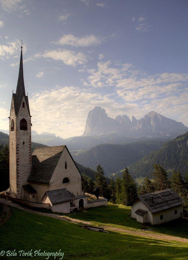 Chiesa di San Giacomo - Val Gardena - Italy -  by Béla Török on 500px