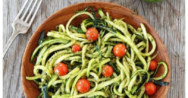 Top 10 Clean Eating Recipes | Zucchini Noodles, Pesto and Clean Eating