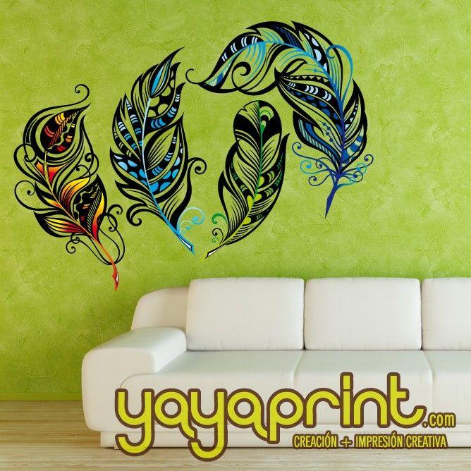 Mejores 200 im genes de vinilos pared decoraci n yayaprint - Vinilos adhesivos madrid ...