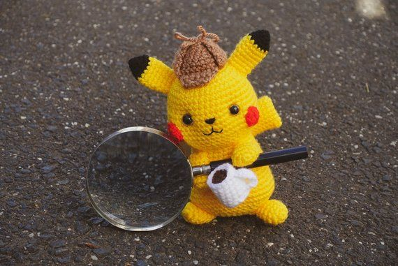 Poseable Crocheted Dratini | Pokemon crochet pattern, Kawaii ... | 381x570