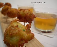 Buñuelos de bacalao, receta de Semana Santa (Thermomix) ༺✿ƬⱤღ http://www.pinterest.com/teretegui/✿༻