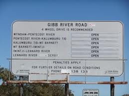 Entry to the Gibb River Road