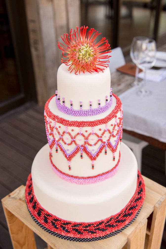 South African Styled wedding Shoot #BeachWedding - South African Wedding Cake