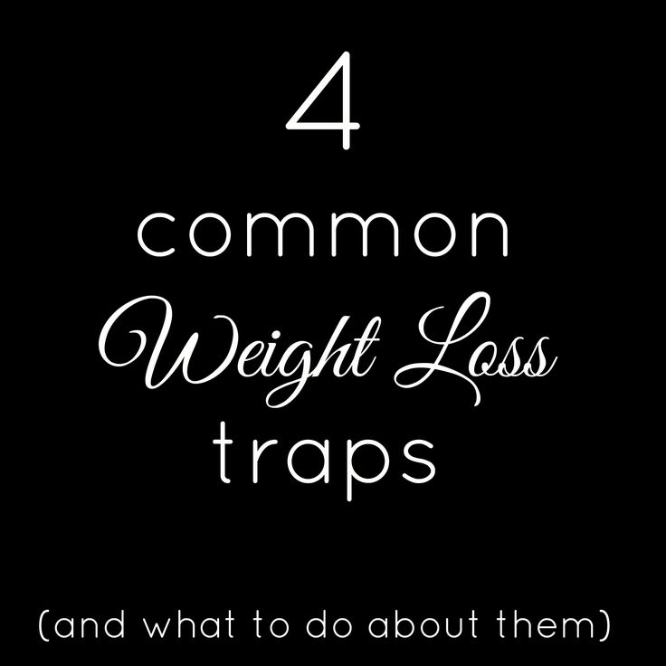 4 common weight loss traps (and what to do about them!) Health and fitness motivation from howtogetmoving.com