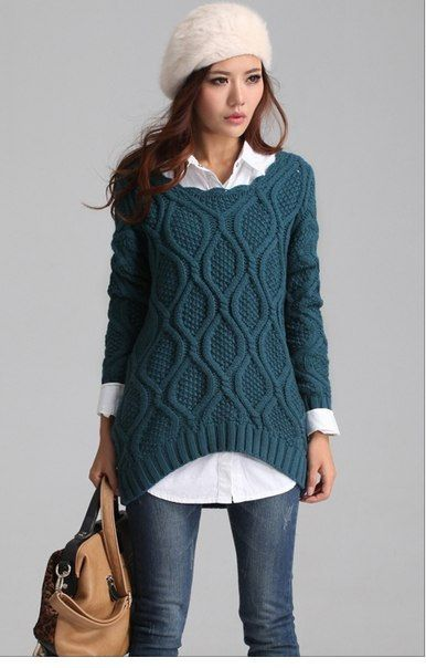 Best 25  Women's crewneck sweaters ideas on Pinterest | Winter ...
