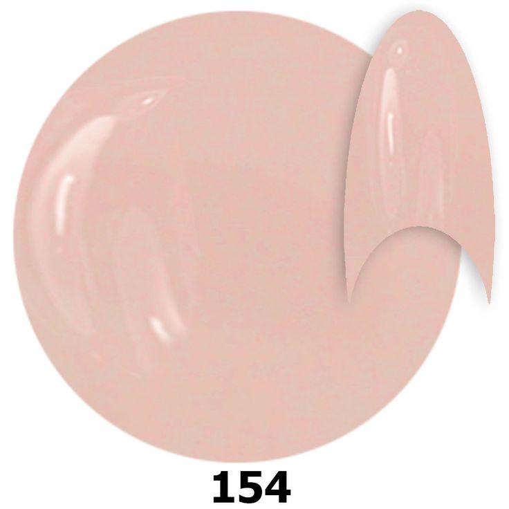 154. NTN Lakier żelowy UV - Skinny pa 482 c - Szary - 6ml