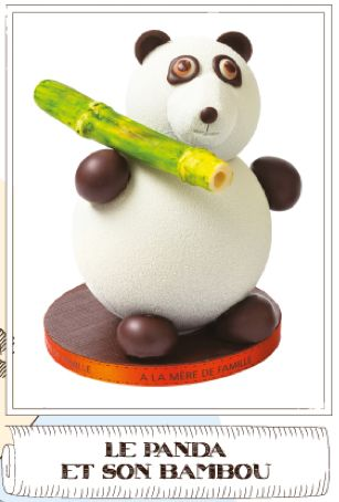Le Panda de Noël de A La Mère De Famille Noël 2013