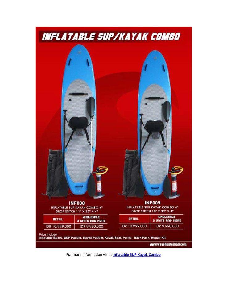 Egotrip Inflatable Supkayak