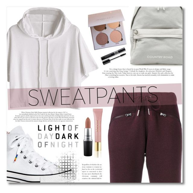 """Untitled #36"" by alyssa-1221 ❤ liked on Polyvore featuring adidas, Converse, AERIN, MAC Cosmetics and Christian Dior"