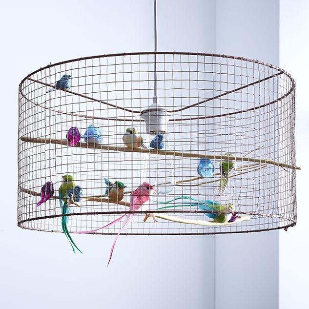 Les 25 meilleures id es de la cat gorie lustre sur pinterest l 39 clairag - Decoration cage oiseau ...
