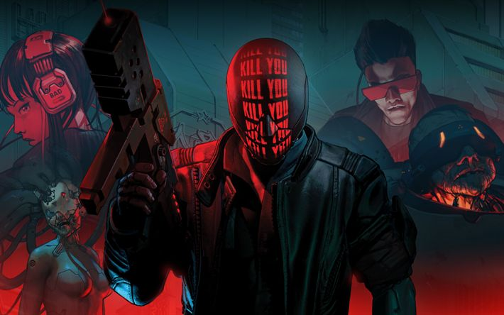 Download wallpapers Ruiner, poster, 2017 games, cyborg, shooter