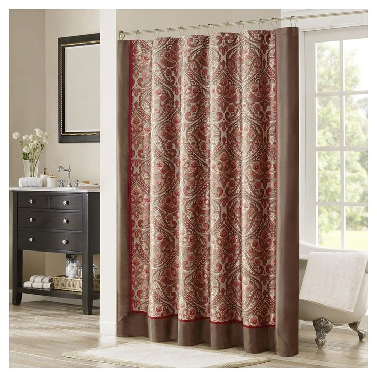 Light Pink Curtains Target: 25+ Best Ideas About Brown Shower Curtains On Pinterest