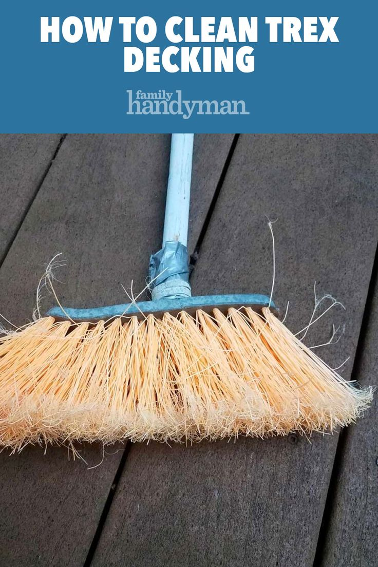 How to clean trex decking deck cleaning deck cleaner deck