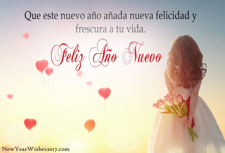 Happy New Year Wishes Messages in Spanish Language with Beautiful Feliz Año Nuevo Greetings Images with Quotes  Click for more - http://newyearwishes2017.com/happy-new-year-in-spanish/