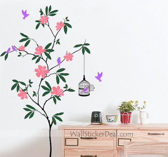 Best Animal Wall Decals Images On Pinterest Animal Wall - Wall decals birdsbirds couple on branch wall decal beautiful bird vinyl sticker