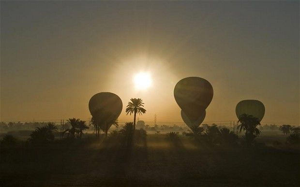 It is the second time that balloon tours from the Egyptian city have been suspended – in 2009 they were put on hold for six months following a series of incidents. f