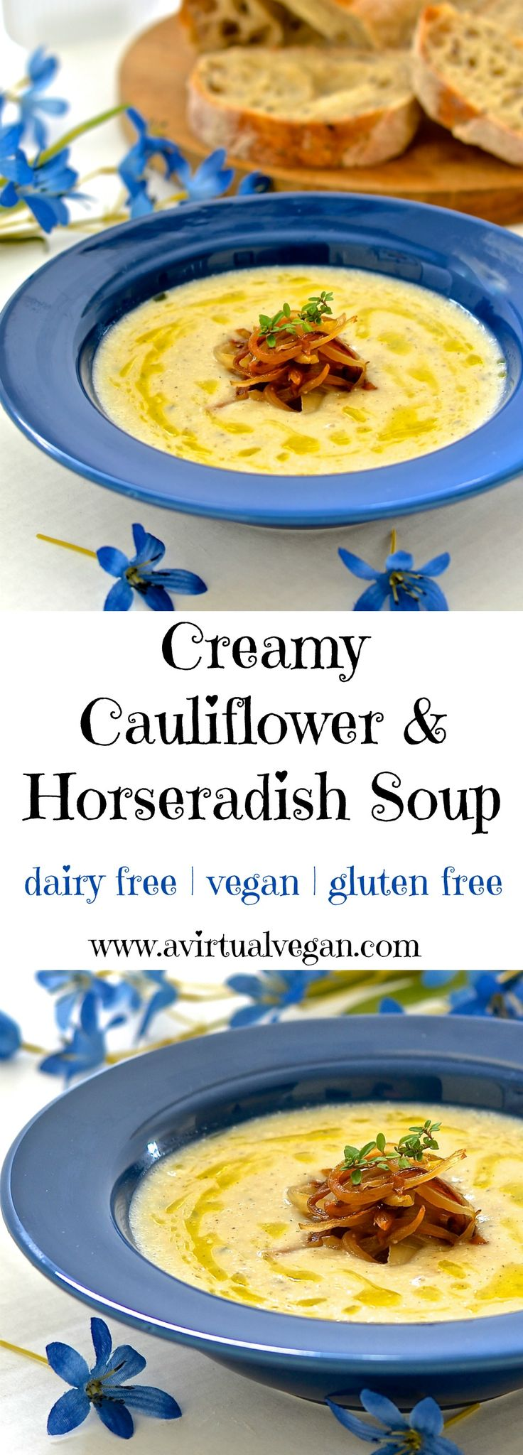 Don't be fooled by this soups deliciously creamy texture. It is actually extremely low in calories & has only 2 grams of fat per serving. It's also ready in under 20 minutes!