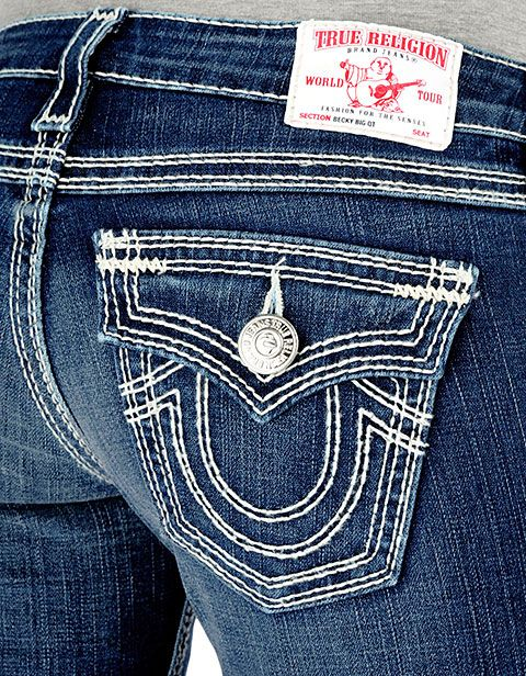 Classic True Religion Jeans - I do love these :)