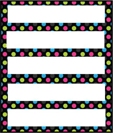 Mr. Derway's Teacher School Newsletter (Polka Dots & Flowers Version 3) Printout