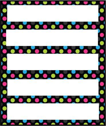 Mr. Derway's Teacher School Newsletter (Polka Dots & Flowers Version 3) Printout