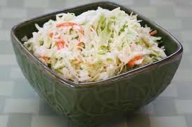 Weight watchers cole slaw - actually one of the better coleslaws I've had, (I don't like it really thick and creamy).