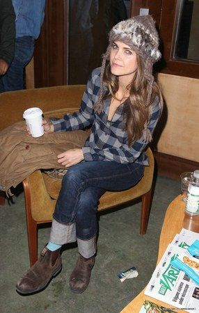 Keri Russell and Blundstone Style 065 Boots