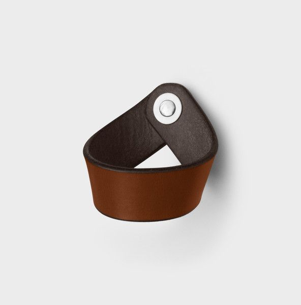 Leather Drawer Pull - The Fremont
